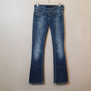 ReRock Express - Low Rise Flare Jeans